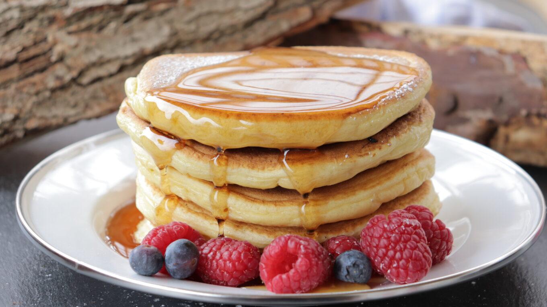 American Pankace fluffige Pfannkuchen