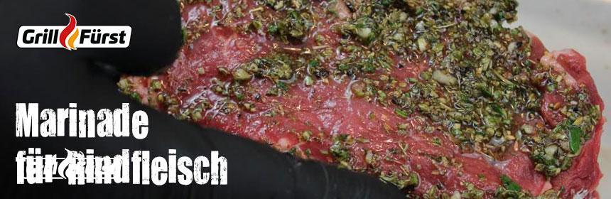 Rindfleisch-Marinade-marinieren