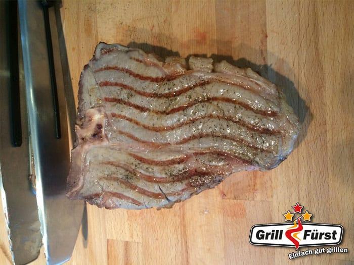 Porterhouse Steak leichte Röstung