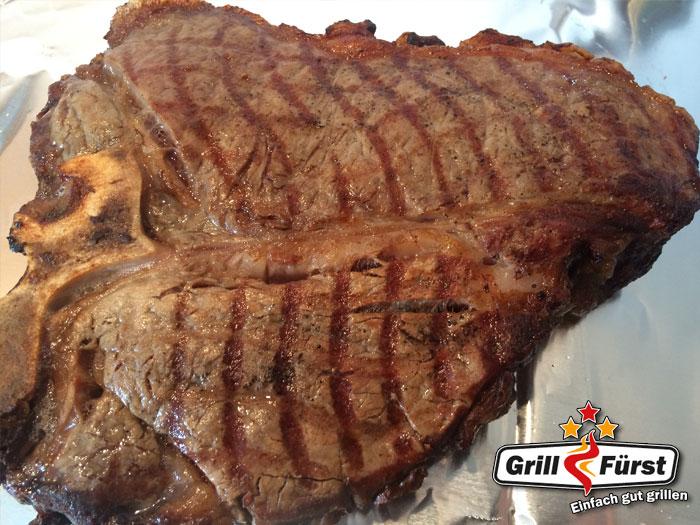 gegrilltes Porterhouse Steak