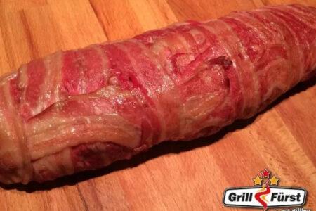 Bacon Bomb fertig gegrillt