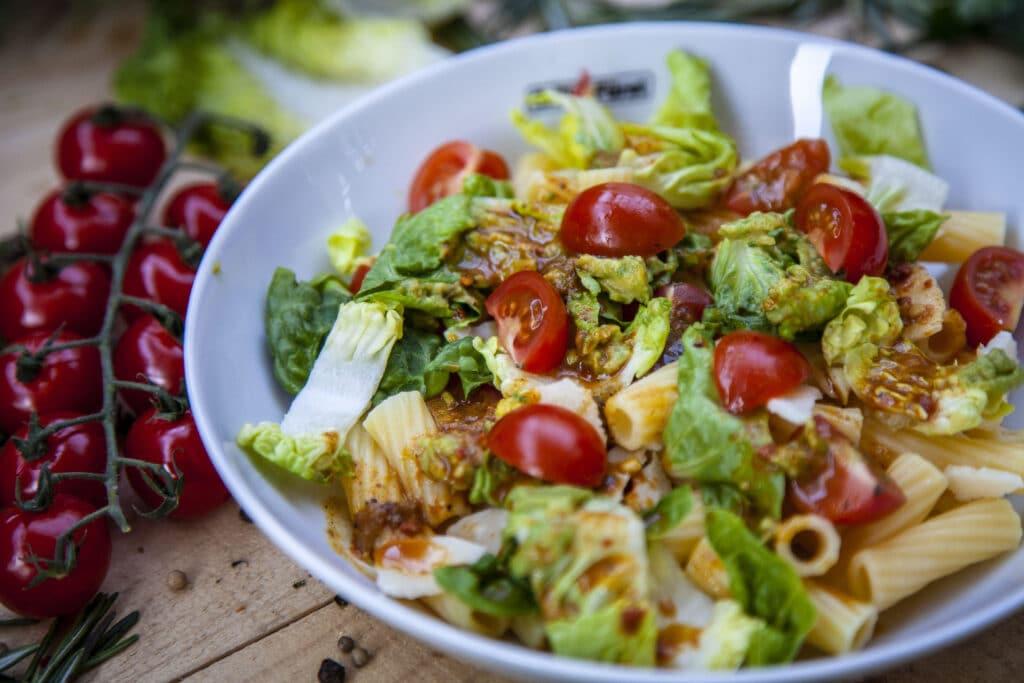 Perfekt zum Grillen: Ceasar Salad