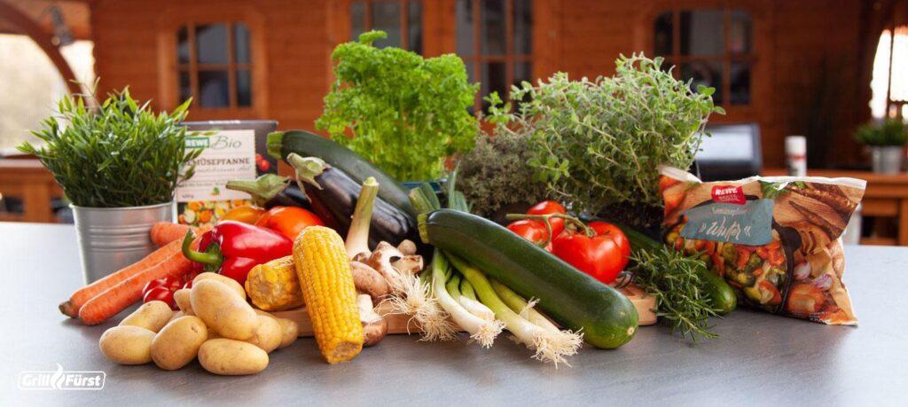 Gemüse vom Grill ist besonders vielseitig. Auch Tiefkühlgemüse eignet sich perfekt.