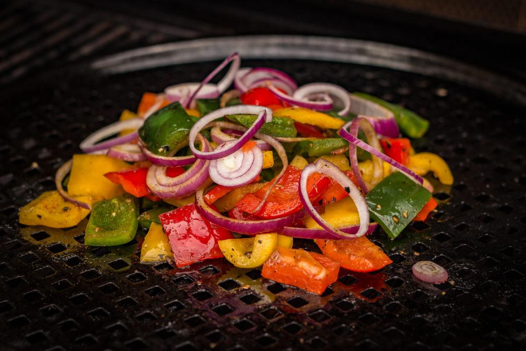 Gegrilltes Gemüse vom Grill