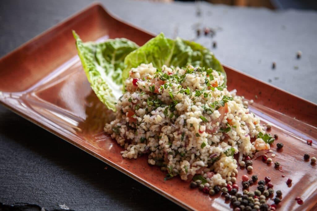 Rezept für raffinierten Petersiliensalat