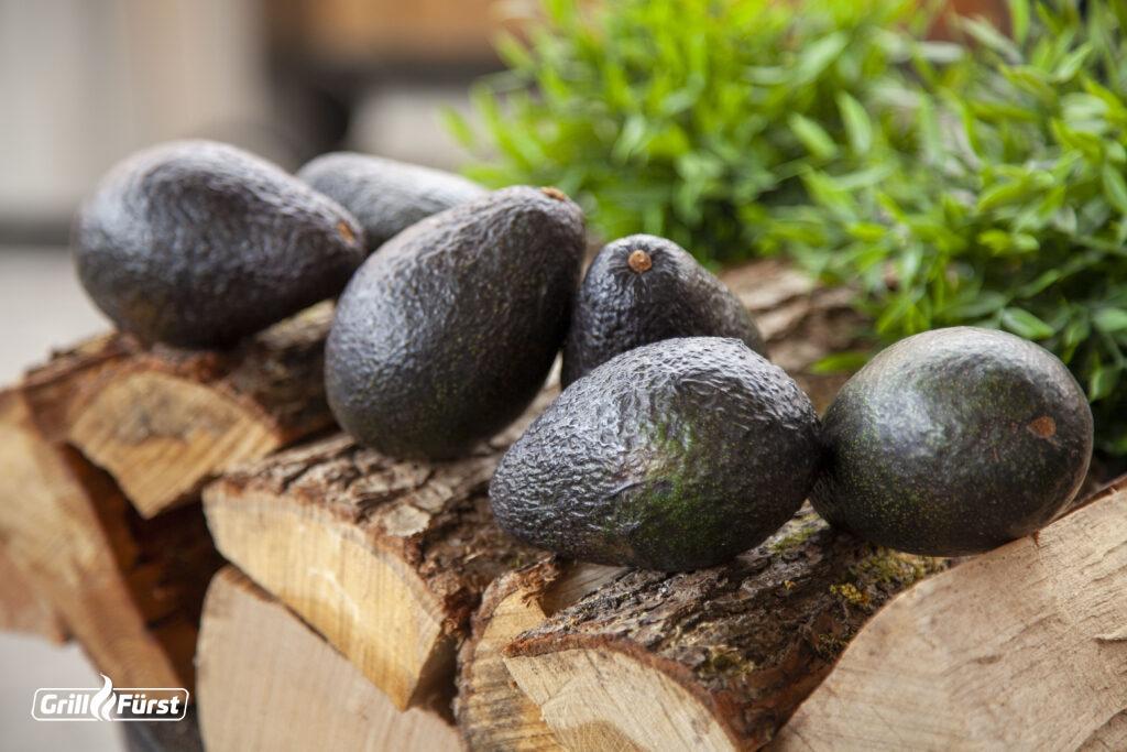 Der Reifegrad der Avocados kann leicht bestimmt werden.