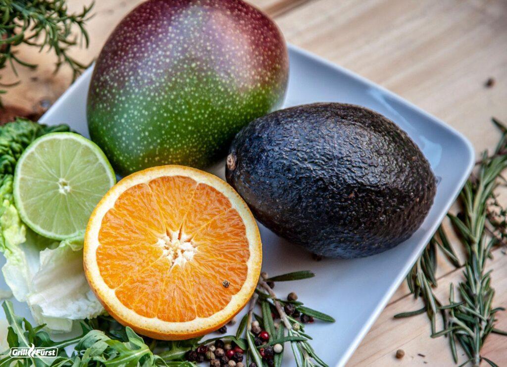 Die Avocados schmeckt besonders lecker in Salaten