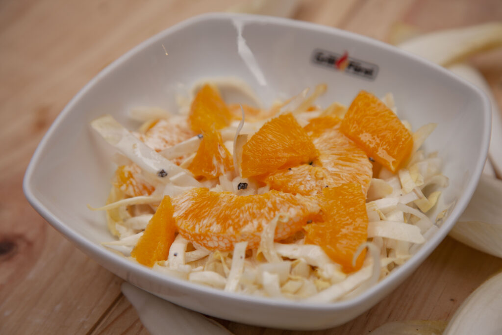 Chiroree Salat mit Orangenfilets - tolles Rezept