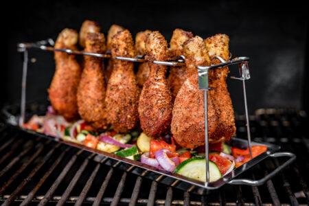 BBQ Rub, Kerntemperatur Geflügel Chicken Wings