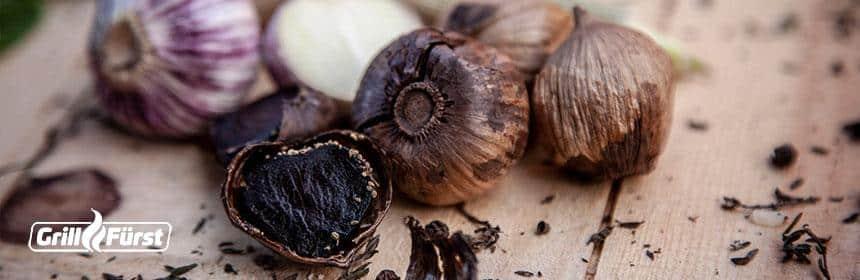 Alles über den schwarzen Knoblauch - fermentierter Knoblauch
