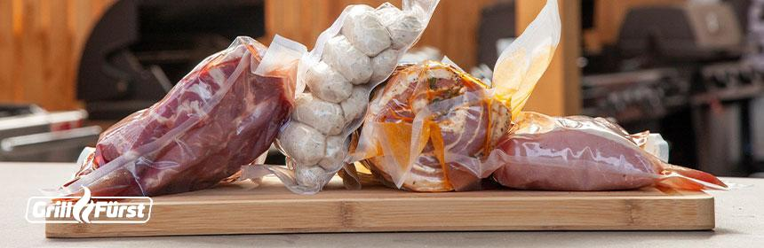 So wird Fleisch im Kühlschrank richtig gelagert.