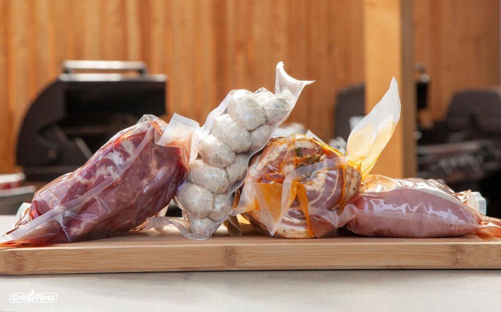 Fleisch am besten einvakuumieren damit es sich länger hält.