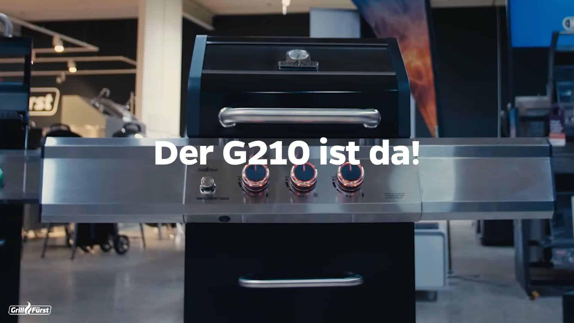 Der grillfürst G210 – Kompakt und Leistungsstark