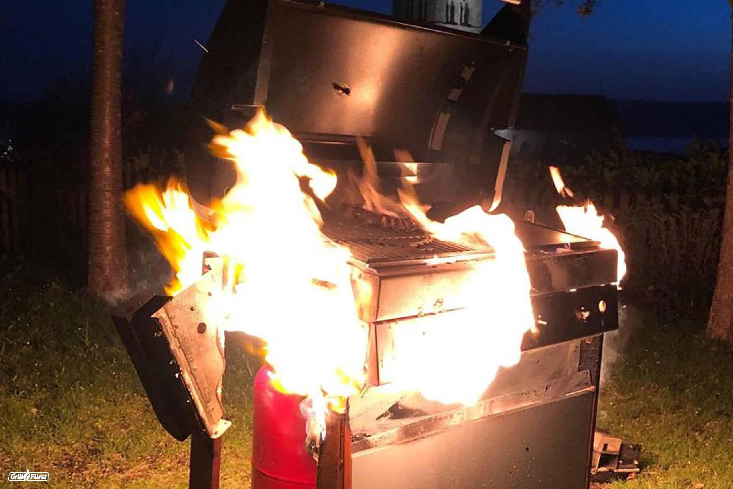 Grillen mit Gas – Gefährlich oder nicht?