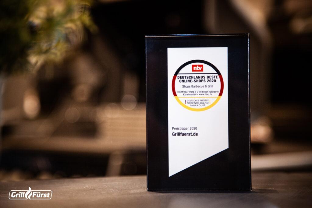 nTV kürt Grillfürst zum besten Online-Shop