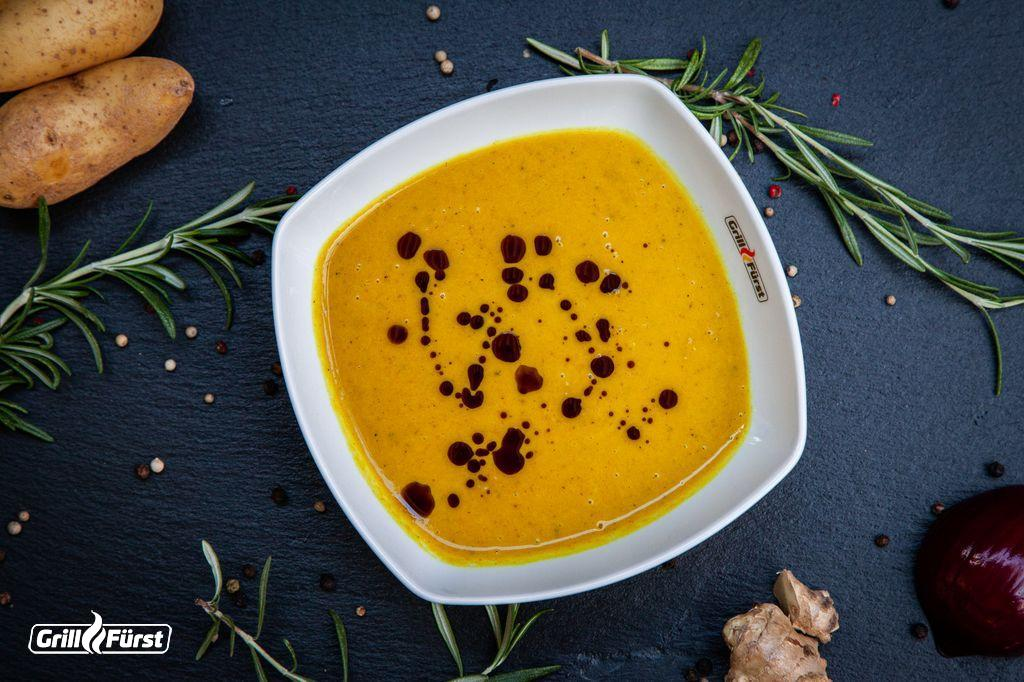 Die Möhren-Ingwer-Suppe ist ein tolles Rezept, um sein Abwehrsystem zu stärken.