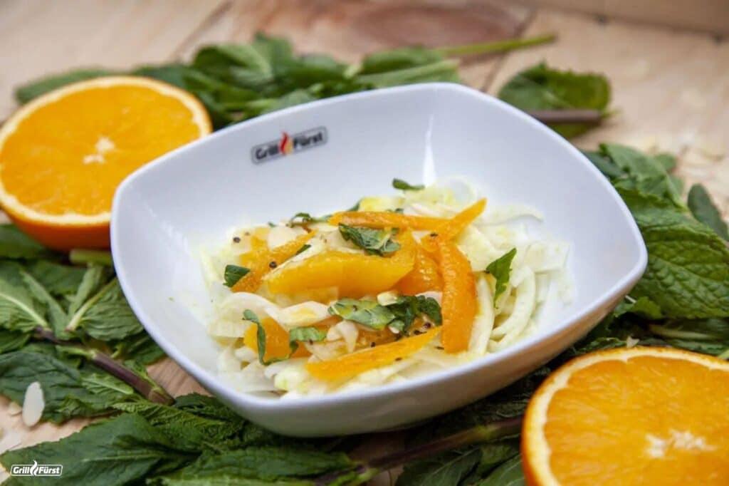 Orangen Fenchelsalat
