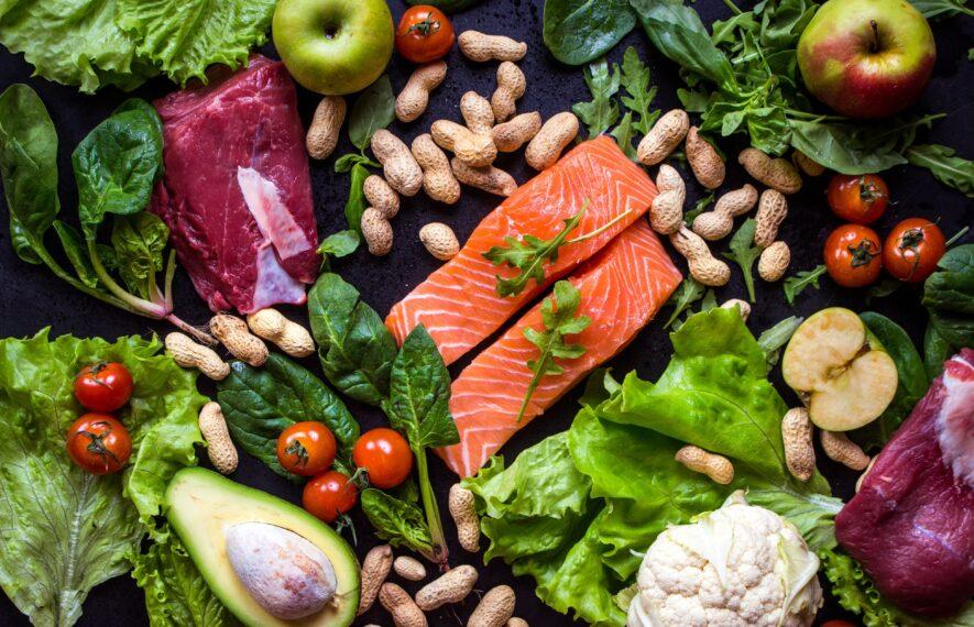 Paleo Ernährung Lebensmittel