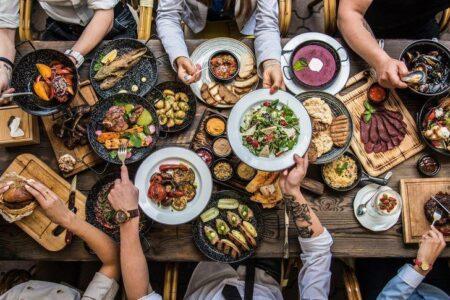 Vielfältige Speisenauswahl in Steakhäusern