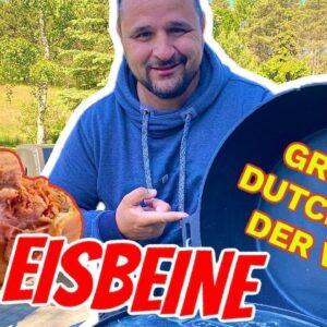 Eisbein aus dem weltweit größtem Dutch Oven von Klaus grillt