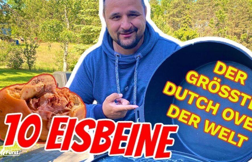 Zehn Eisbeine aus dem Dutch Oven