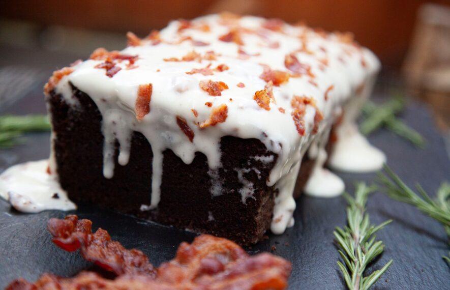 Bacon Schokoladenkuchen