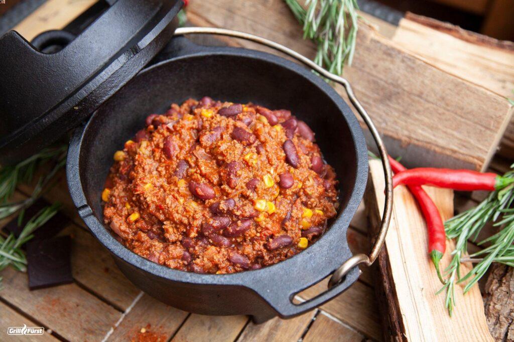 Chili con Carne im Dutch Oven