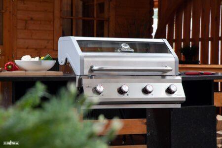 Grillfürst G401 Einbau Grill versichern