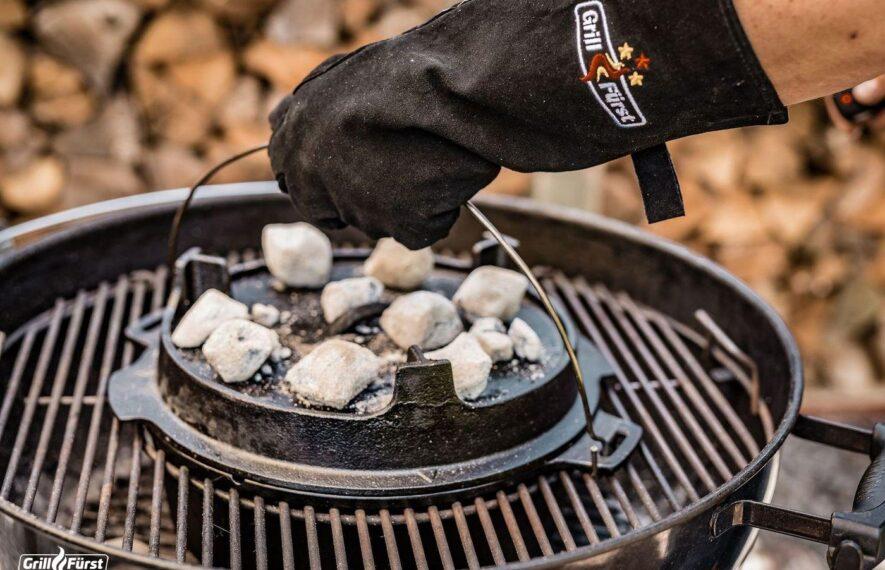 Leder Grillhandschuhe Grillfürst Dutch Oven