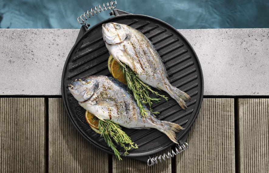 Kerntemperatur-Fisch