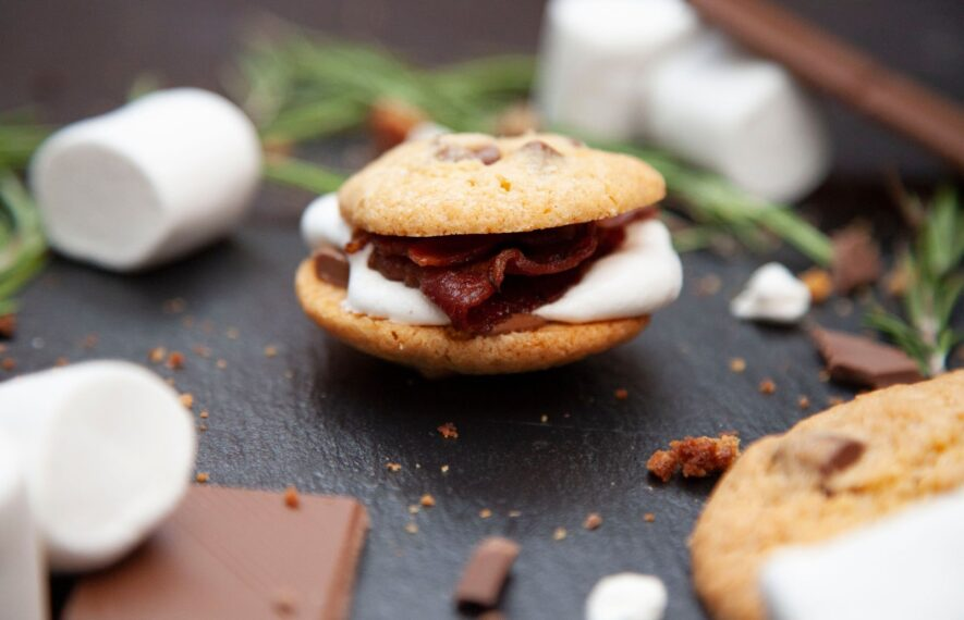 S'Mores mit Bacon