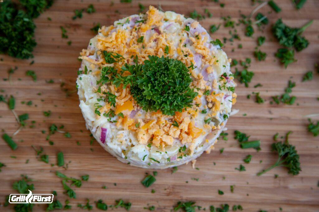 Kartoffel Salattorte