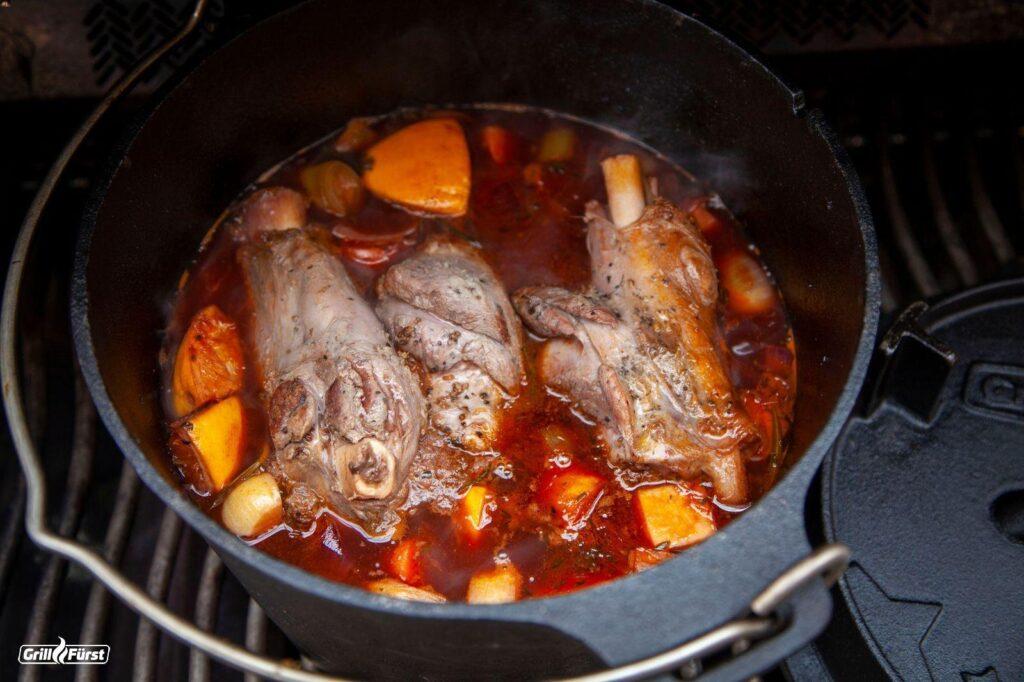 Wildfleisch zubereiten