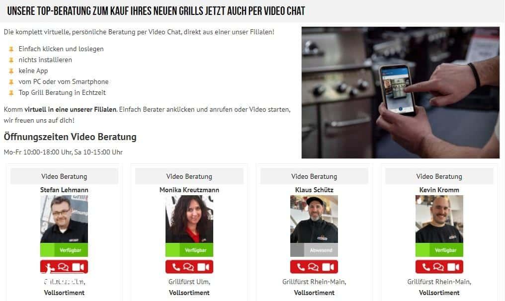 Video Grill Kaufberatung bei Grillfürst