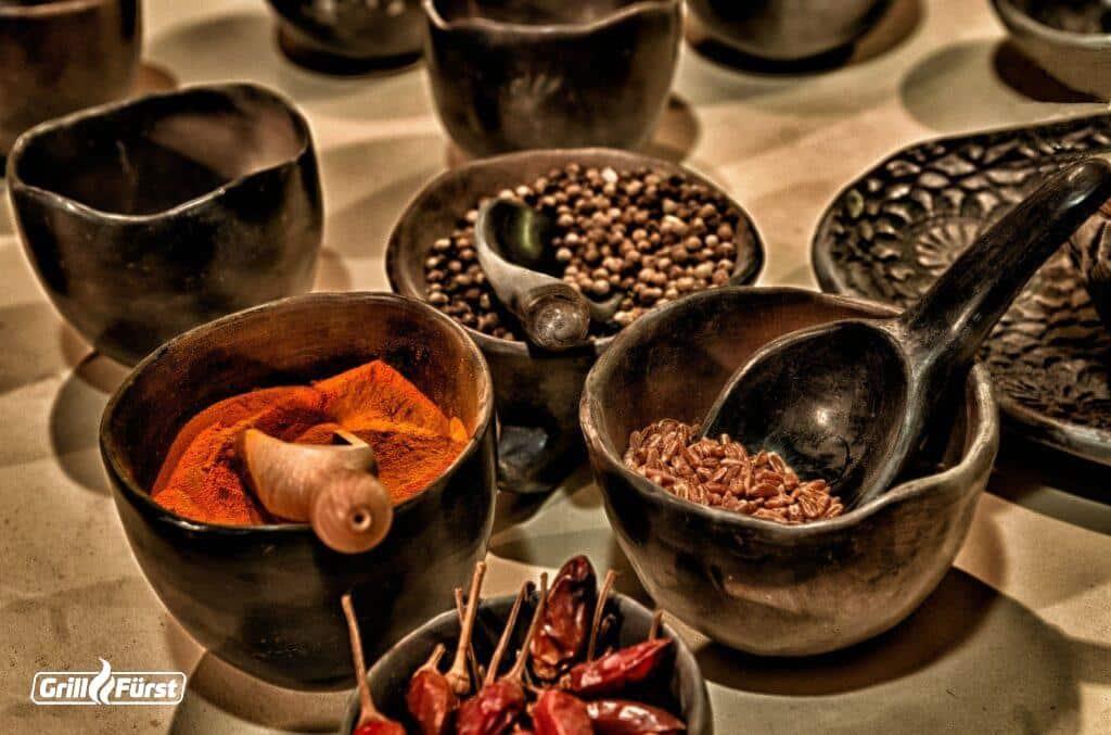 Gewürze: Chili, Paprika etc.