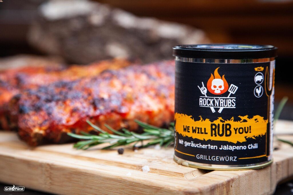 Rock 'n' Rubs We will rub you mit Spare Ribs