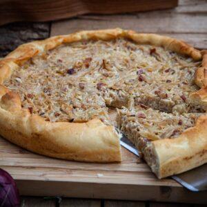 Zwiebelkuchen vom Grill – Unser Top 1 Rezept mit Quark Teig