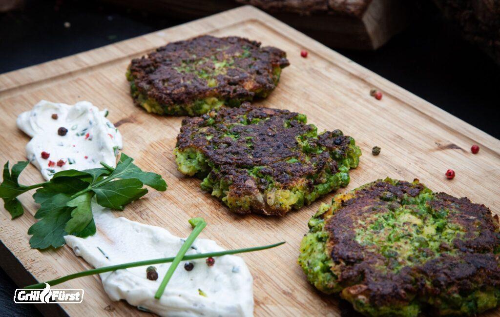 vegetarische Frikadellen Gemüsefrikadellen