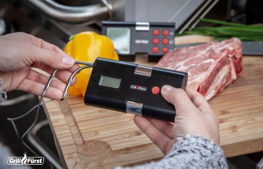 Fleischthermometer von Grillfürst