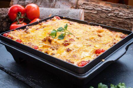 Lasagne in Kastenform