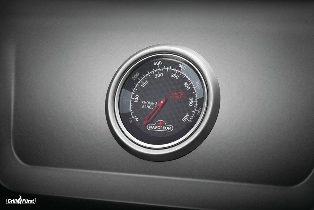 Napoleon Freestyle Deckelthermometer