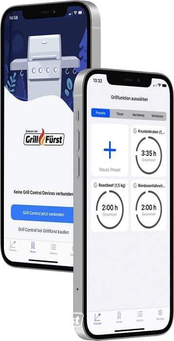 Grillfürst Grill Control App für die Steuerung