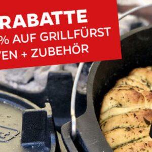 Grillfürst Newsletter mit Dutch Oven Special, Napoleon Freestyle und vielen Smart Deals