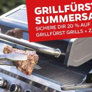Grillfürst NEwsletter: Letzte Chance beim Grillfürst Summersale + unschlagbare Dutch Oven X-Deals