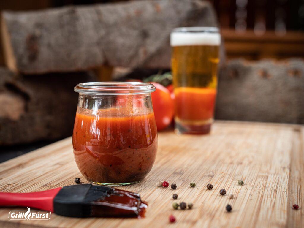 BBQ Sauce mit Bier