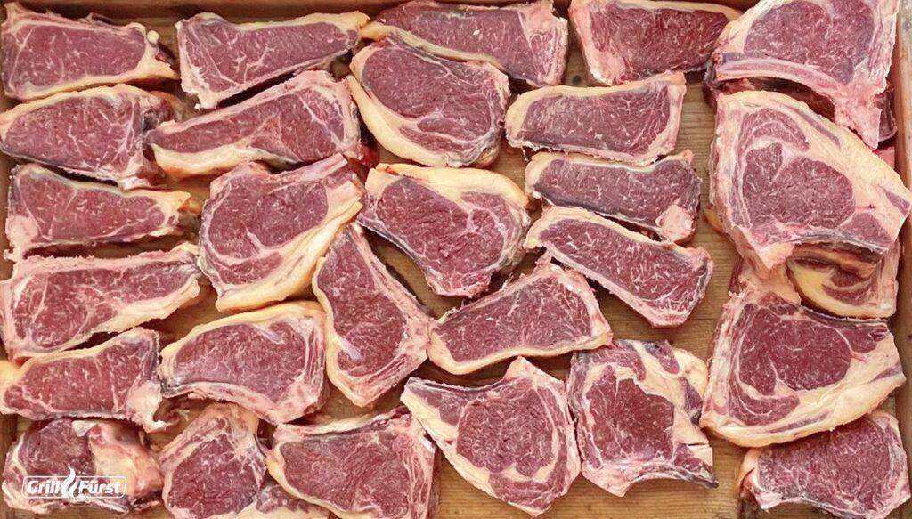 Rinderkoteletts vom Schottischen Highland, 8 Jahre