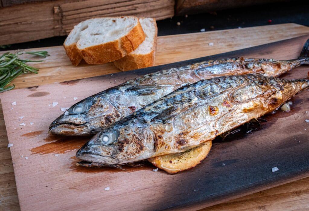 Rezept Makrelen grillen mit Aioli