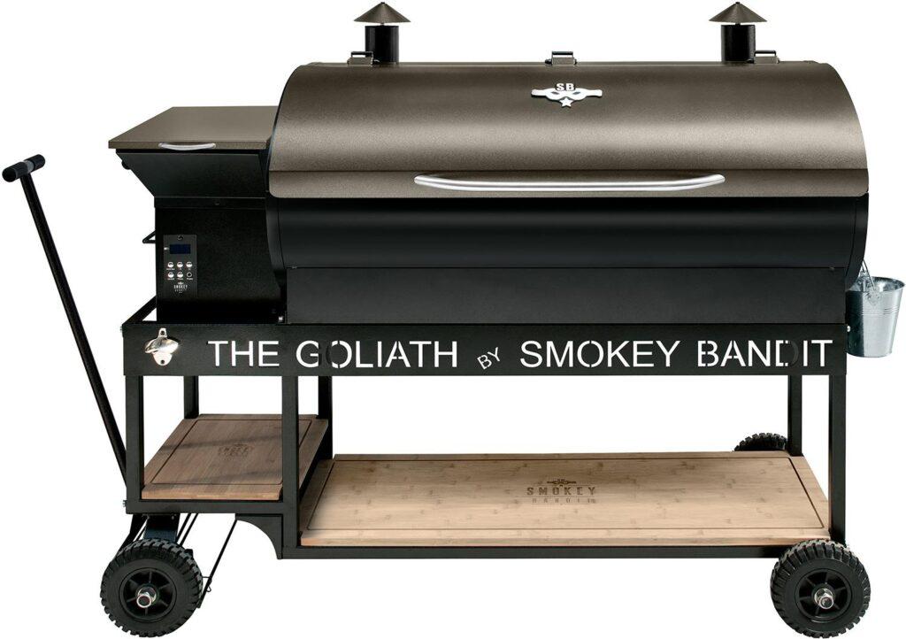 Pellet Smoker Test Smokey Bandit Goliath