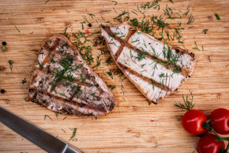 Thunfisch grillen