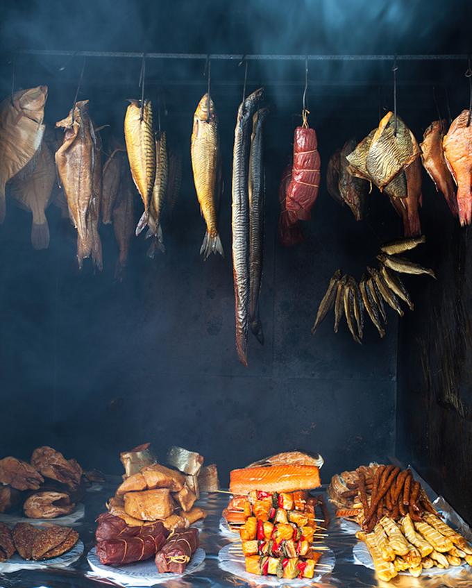 Zum Räuchern eignen sich nahezu alle Lebensmittel